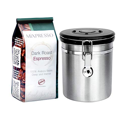 Mixpresso Stainless Steel Airtight