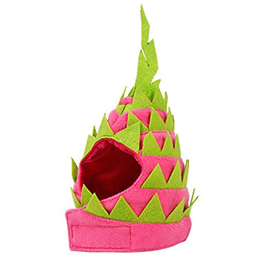 NDY Pet caps, Dragon Fruit Shape, cat, Dog, hat, Party, Halloween Supplies,S for $<!--$22.94-->