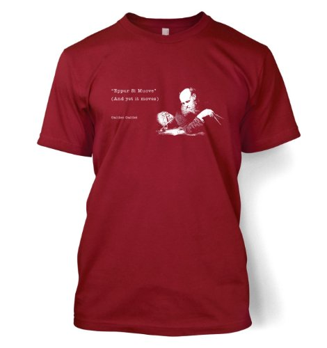 And Yet It Moves Galileo Science Geek T-shirt