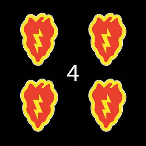 25th infantry division decals - 2