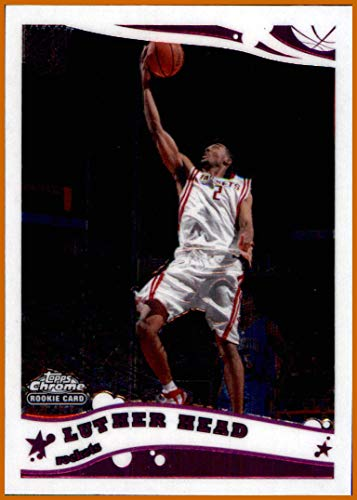 - 2005-06 Topps Chrome #208 Luther Head RC ROOKIE Illinois HOUSTON ROCKETS