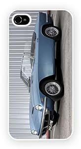 Chevrolet Chevelle II Blue iPhone 4 / 4S Funda Para Móvil Case Cover