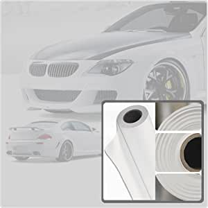 """Rshield Paint Protection (4 mil) Film Sheet Roll Wrap - 12x24"""" Clear Protection"""
