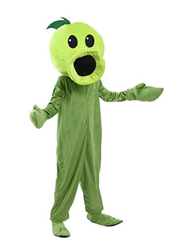 Fun Costumes Plants Vs Zombies Child Peashooter Costume Small (Plants Vs Zombie Costumes)