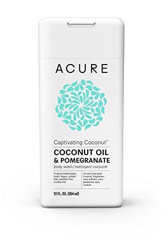 Acure Captivating Coconut Body Wash, 12 Fluid Ounces