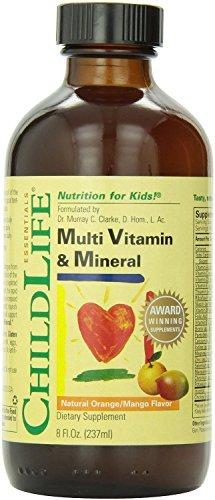 Enfant vie Multi vitamines et minéraux, 8 onces