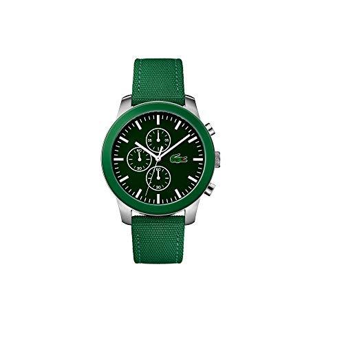 Lacoste 12.12 Green Dial Nylon Strap Men's Watch 2010946