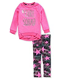 One Step Up Girls' 2-Piece Leggings Set Outfit