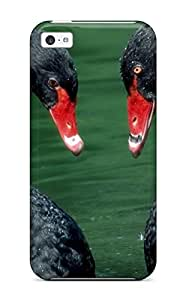 Dolores Phan's Shop Iphone 5c Swan Print High Quality Tpu Gel Frame Case Cover 3028851K86289517