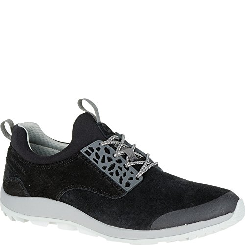Merrell Emergy, Scarpe Stringate Uomo Black