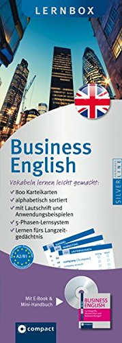 Business English - Compact Lernbox: 800 Vokabel-Karteikarten, Mini-CD & Mini-Wörterbuch Business English. Mit 5-Phasen-Lernsystem