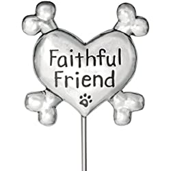 Rockin Doggie Garden Stake, Faithful Friend