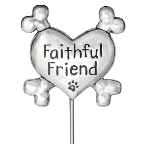 Faithful Friend Pet Memorial - Rockin Doggie Garden Stake, Faithful Friend