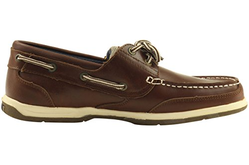 Island Surf Mens Fashion Classic 10907 Boat Shoes (8.5, Brown)