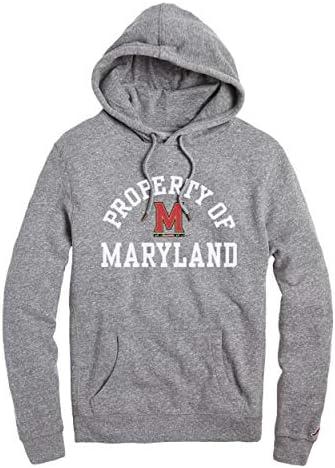NCAA League Herren Maryland Terrapins Heritage Kapuze, groß, Herbst Heather
