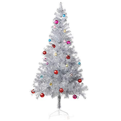 Best silver tinsel christmas tree 7 for 2020