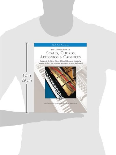 The Complete Book of Scales, Chords, Arpeggios and Cadences ...