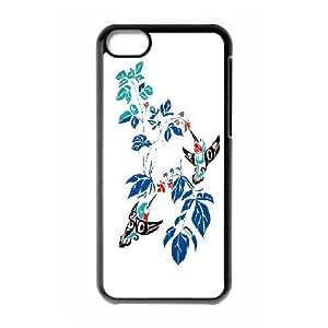 Beautiful & cute bird,Hummingbird Case Cover Best For Iphone 5c KHRN-T533452