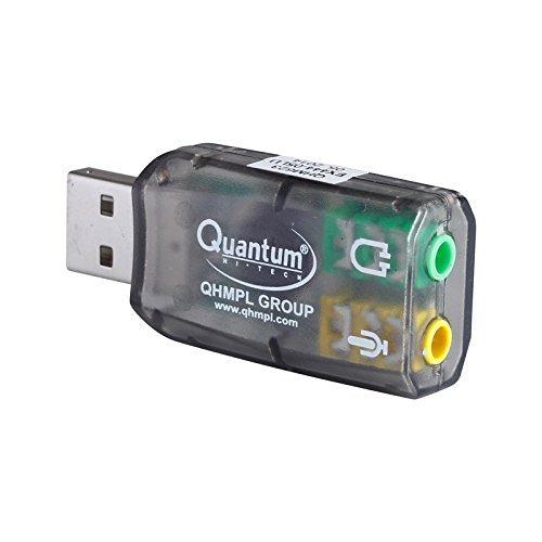 Bestonova Quantum USB Sound Card QHM 623 for All Computer/PC