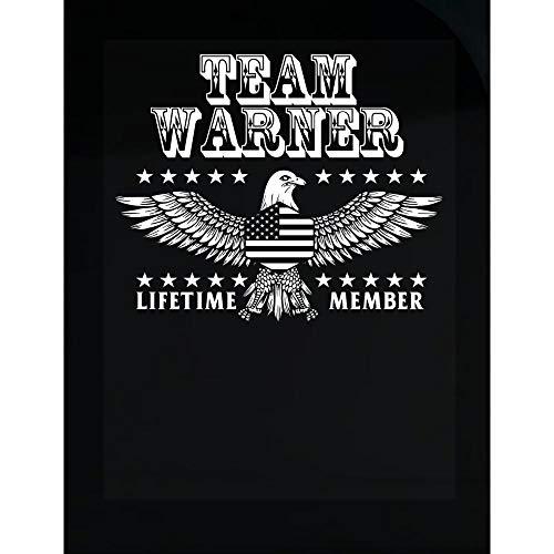 MESS Team Warner Last Name Surname Pride - Transparent Sticker ()