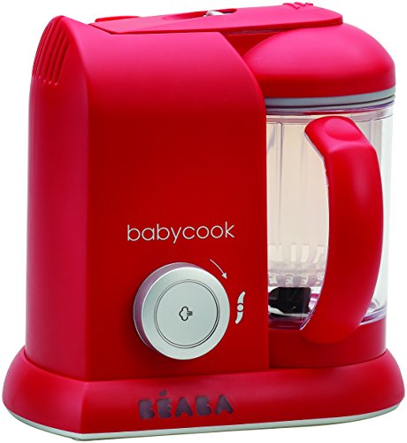 Beaba Babycook Solo 4-in-1 Baby Food Maker - Red