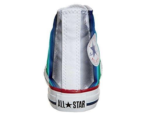Scarpe Converse All Star personalizzate (scarpe artigianali) Tridimensional