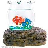 Magic Swimming Fish Bowl No Maintenance Desktop Toy Tropical Fish