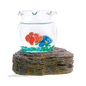 Magic swimming fish bowl no maintenance for Fish bowl amazon