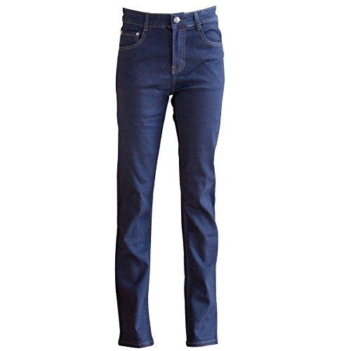 Bootcut Bleu Yuki Indigo Femme Jeans Azcq1P