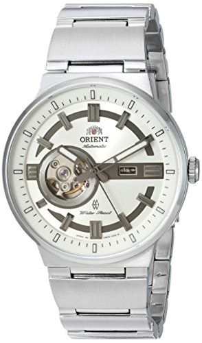 Orient Men's 'Eclipse' Japanese Automatic Stainless Steel Casual Watch, Color:Silver-Toned (Model: SDB0D003W0)