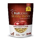 Fruitables Skinny Minis Grain Free Soft Dog Treats Apple Bacon Flavor...