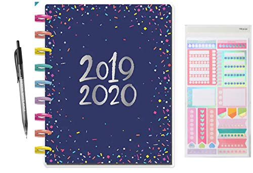 Create 365 18 Month Classic Happy Planner 2019-2020; Happy Year Planner Comes with Recollections Stickers and Ink-Joy Pen