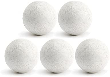 Pelotas de futbolín de corcho – 5 unidades – Color blanco: Amazon ...