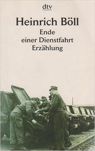 """Image result for """"Ende einer Dienstfahrt"""" by Heinrich Boll."""