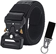 Forwind Tactical Belt With Heavy-Duty Quick-Release Metal Buckle For Men Outdoor Sports Nylon Camouflage Belts