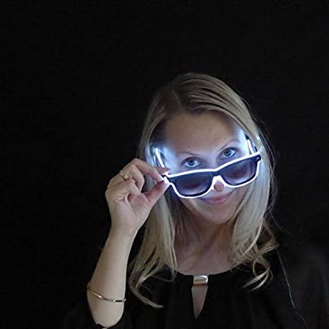 Decotrend-Line Gafas de Sol con Tira de luz LED, Color ...