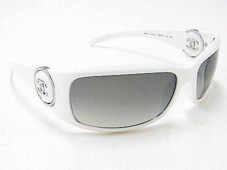 1dce88d7104c New Chanel 6030 716 11 White Sunglasses 63-16-110  Amazon.co.uk  Clothing