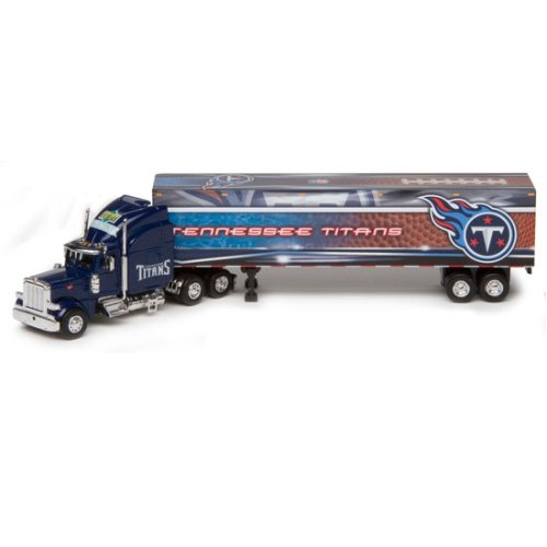 Tennessee Titans Upper Deck Collectibles NFL Peterbilt Tractor-Trailer ()