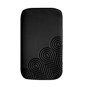 Puro Nabuk - Funda para móvil, negro