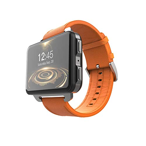 LEMFO LEM4 PRO 2.2 Inches Big Screen 3G Smart Watch with 1GB 16GB 1200MH GPS Orange ()