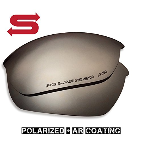 SILVER Oakley Half Jacket 2.0 Lenses POLARIZED by Lens Swap QUALITY & PERFECT - Half 2.0 Jacket