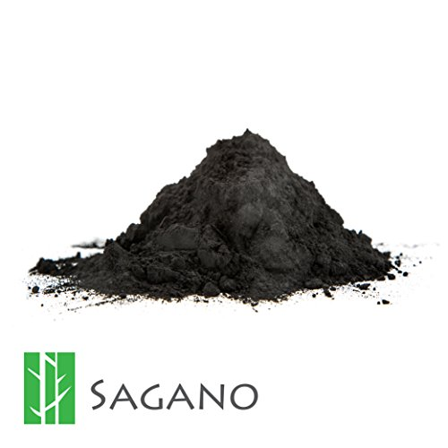 Activated Charcoal Powder 1 Pound By Sagano Raw Organic