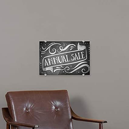 CGSignLab Chalk Banner Premium Acrylic Sign 18x12 5-Pack Annual Sale