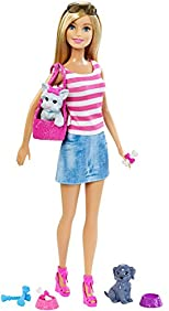 Barbie Doll with Puppy Accessory
