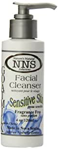 Nature's Natural Solutions Goat Milk Facial Cleanser, Sensitive Skin, 4 ounce