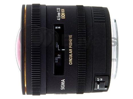 Sigma  mm f  EX DC HSM Fisheye Objetivo para Nikon