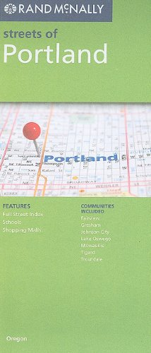 Rand McNally Streets of Portland: Communities Included: Fairview, Gresham, Johnson City, Lake Oswego, Milwaukie, Tigard, Troutdale