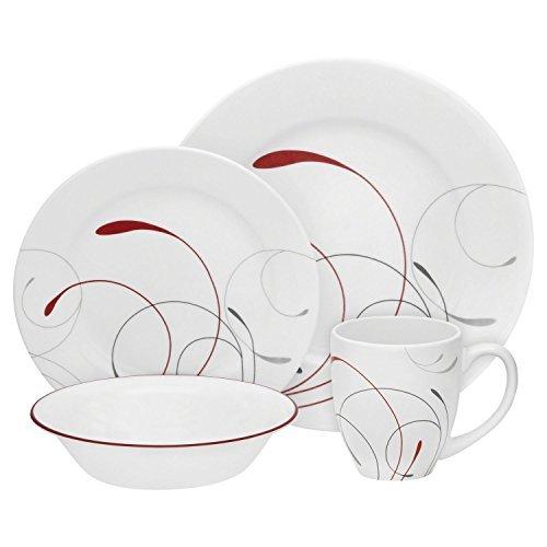 corelle 40 piece dinnerware sets - 7
