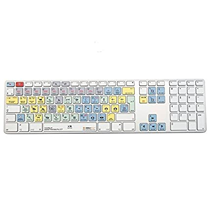 4c3adc29cbe Amazon.com: Editors Keys Dedicated Keyboard for Adobe Premiere CC   Apple  Shortcut Wired Keyboard: Computers & Accessories