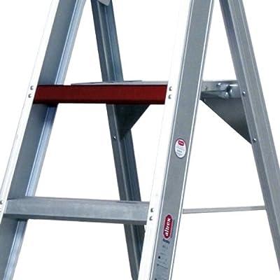 Altrex 0000486 Escalera de Aluminio para uso Industrial, Peldaño Ancho, Número de Peldaños: 1 x 4: Amazon.es: Industria, empresas y ciencia